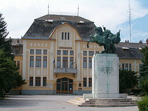 Karcag - City Hall in Karcag