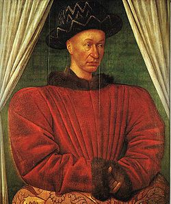 Charles VII le Victorieux par Jean Fouquet