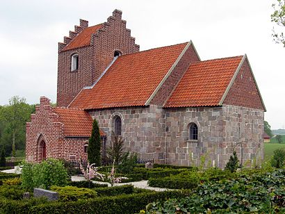 How to get to Kasted Kirke with public transit - About the place