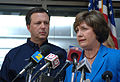 Kathleen Blanco speaks alongside Michael Brown.jpg