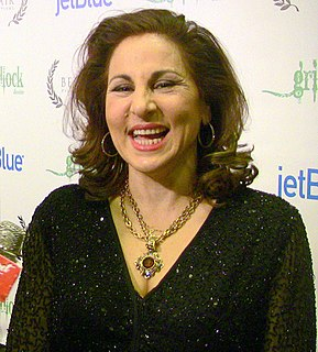 Kathy Najimy American actrees, comedian, writer and activist