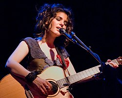 Katie Melua in concerto a Seattle nel 2009