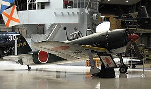 Kawanishi N1K2-J Shiden Kai, Naval Aviation Museum.jpg