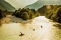Kayaking on Soca river (30075013618).jpg