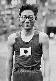 Kenkichi Oshima Japanese triple jumper
