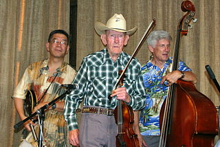 American fiddle player