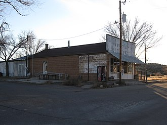 Kenton, Oklahoma - Image: Kenton Oklahoma Mercantile Store November 2011