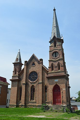 Samuel Freeman Miller - Miller's church in Keokuk