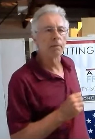 Kevin MacDonald (evolutionary psychologist) - MacDonald at American Freedom Party conference 2013