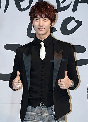 Kim Hyung-jun - Kim Hyung-jun at the press conference of KBS Drama's My Shining Girl on January 4, 2012