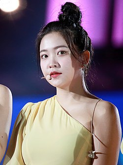 Kim Yeri at Trans Korean Wave in Jakarta on April 27, 2019.jpg