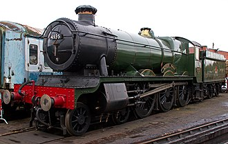 GWR 4900 Class - Image: Kinlet Hall (8130668488)