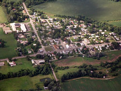 Aerial photograph of Kirkersville