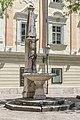 Klagenfurt Landhaushof Obeliskbrunnen 18072016 3154.jpg