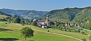 Münstertal, Black Forest - Saint Trudpert Monastery