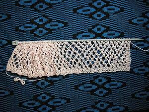 Basic knitted fabrics - Faggoting lace.