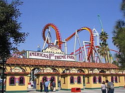 The entrance to Knott's Berry Farm in Buena Park