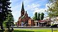 Kościół pw. św. Andrzeja Boboli, Plac Kościeleckich, Bydgoszcz, Polska. Widok ze skweru przy ulicy Bernardyńskiej.. - panoramio.jpg