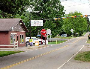 Kodak, Tennessee - Intersection of Douglas Dam Road (TN-139) and Kodak Road in Kodak