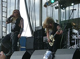 Koldbrann beim Summer Breeze 2007