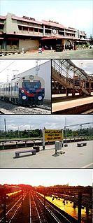 Kollam Junction railway station Railway station in Kerala, India