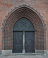 Kolobrzeg portal of the Cathedral Basilica 2011-12.jpg