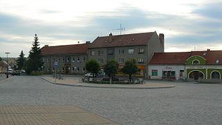 Koryčany Town in Zlín, Czech Republic