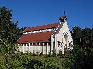 Wieniec-Zdrój Spa in Kuyavian-Pomeranian Voivodeship, Poland
