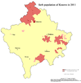 Kosovo Serb population in 2011.png