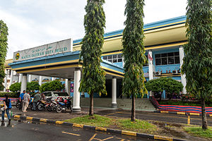 Kota Belud District - Kota Belud District Council office.