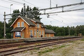 Kråkstad Station railway station in Ski, Norway