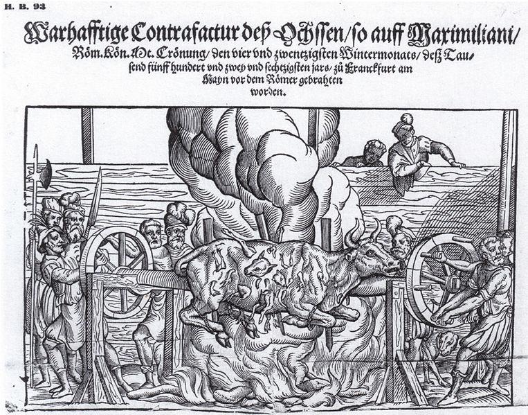 File:Krönung Maximillian II. Ochse.jpg