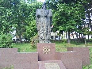 Tomislav of Croatia - Image: Kralj Tomislav 09421