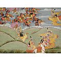 Krishna rescue arjuna.jpg