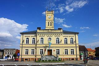 Krobia Place in Greater Poland Voivodeship, Poland