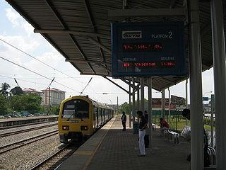 Batu Tiga Komuter station railway station