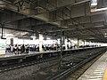 Kumagaya Station platform 2017-07-05.jpg
