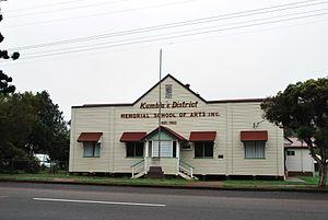 Kumbia, Queensland - Kumbia Memorial School of Arts, 2008