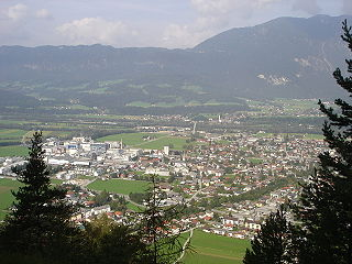Kundl Place in Tyrol, Austria