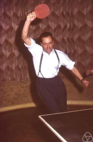 László Fejes Tóth - Fejes Tóth, 1958. Photo by Ludwig Danzer