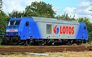Lotos Kolej - Locomotive class TRAXX DE of LOTOS Kolej