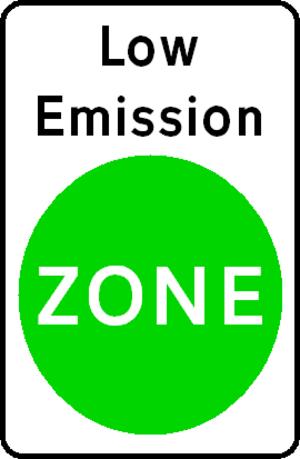 London low emission zone - Image: LOWEMZON Efeb 08