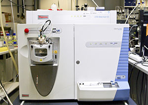 Mass spectrometry - Orbitrap mass spectrometer.