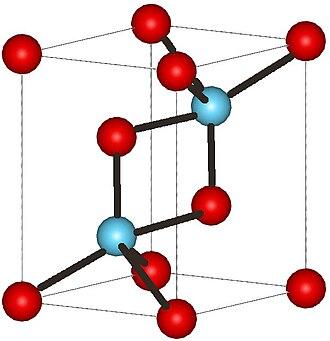 Cerium(III) oxide - Image: La 2O3structure
