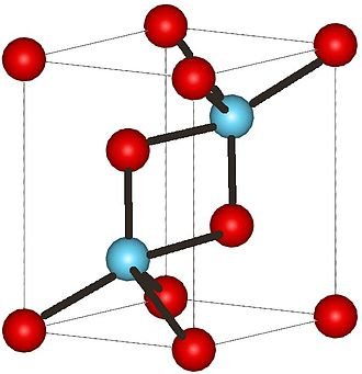 Actinium(III) oxide - Image: La 2O3structure