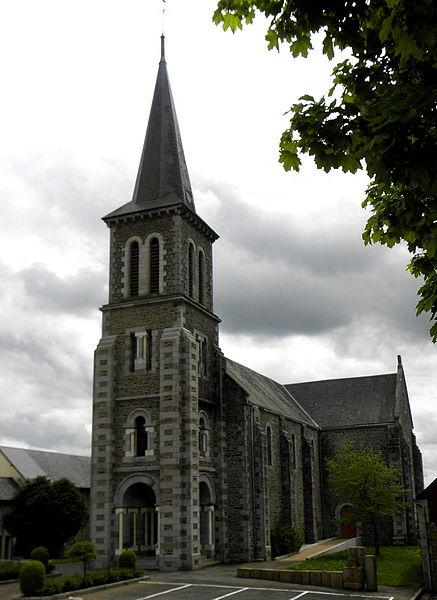 Église de La Dorée (53).