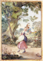 La Perrette illustration in The Original Fables of La Fontaine.png
