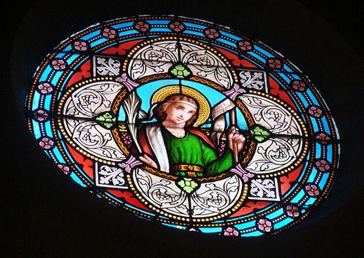 La Valentine-église-vitrail
