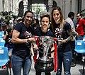 La alcaldesa recibe al equipo femenino del Atlético de Madrid ganador de la Liga Iberdrola 2019 01.jpg