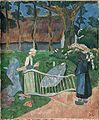 La barrière fleurie, Le Pouldu 1889 Paul Serusier.jpg